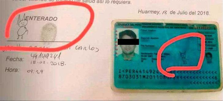 Фото №2 - Смешная подпись в паспорте сделала парня знаменитым!