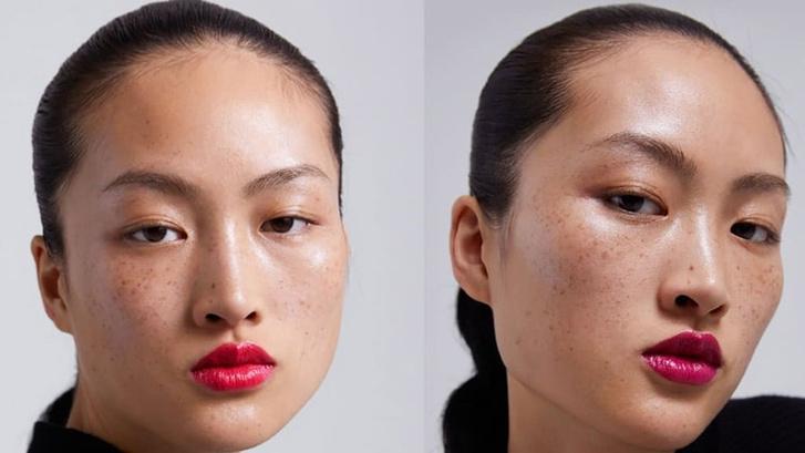 Фото №2 - Модный бренд обвинили в том, что он изуродовал модель. А он всего лишь выложил фото без ретуши