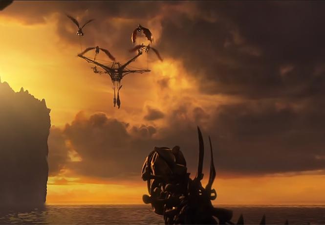 Фото №1 - Прибыл дублированный трейлер мультфильма «Как приручить дракона — 3»