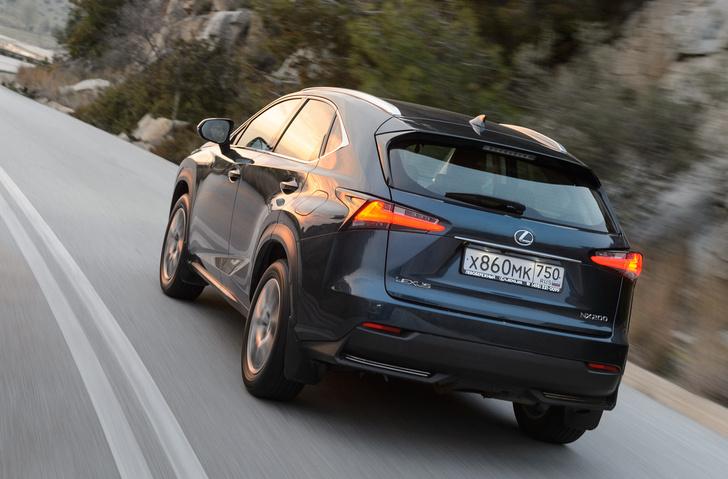 Фото №5 - Lexus NX — обреченная на успех новая линейка внедорожников