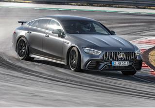 Mercedes-AMG представляет ошеломительно быстрый гран-туризмо GT 4‑Door Coupe