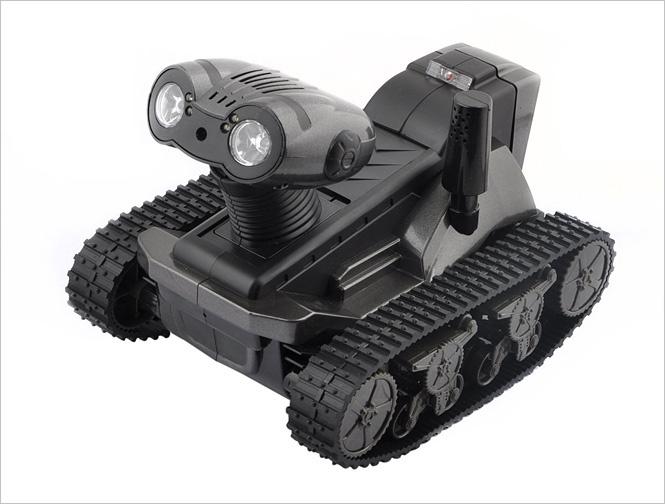 Робот-танк-шпион Hugine