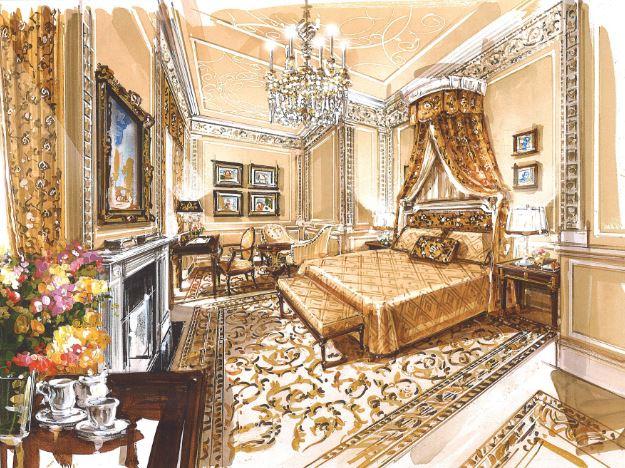 Royal Suite  в отеле The Lanesborough