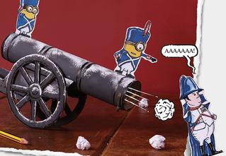 Собери пушку-рогатку из «Миньонов» своими руками!