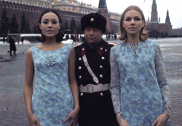 Фото №1 - Голландские модели в СССР (17 колоритных фото)