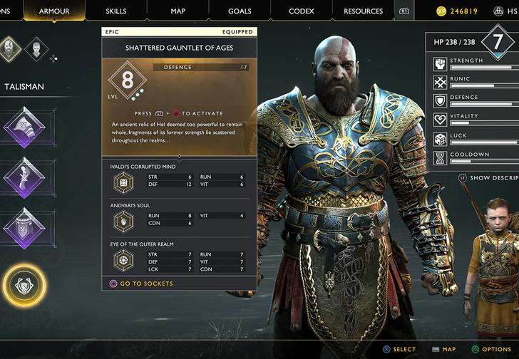 Фото №6 - Татуировка, борода и топор: почему все говорят о новой God of War