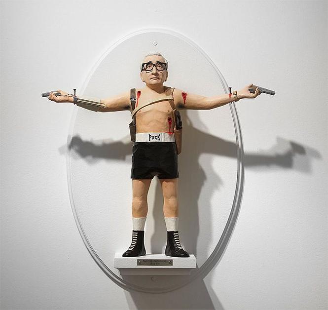 Фото №16 - Скульптор создает диковатые статуэтки знаменитых кинорежиссёров