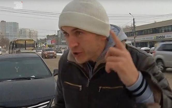 Челябинец опозорился, пытаясь устроить шумиху из-за незаконного изъятия прав (ВИДЕО)