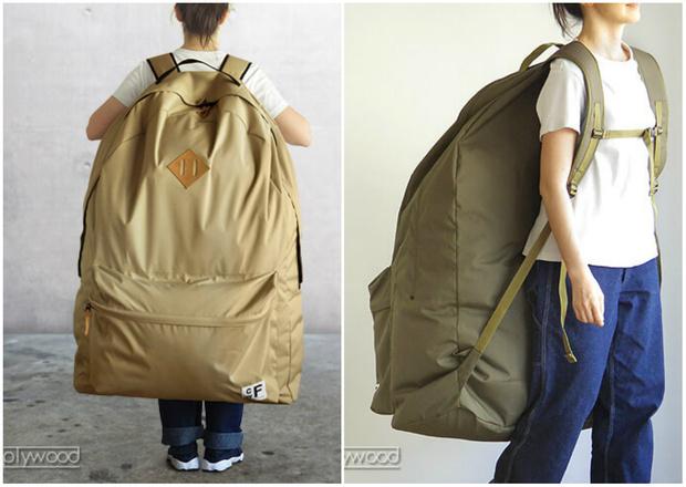 Фото №1 - В продаже появился рюкзак размером со шкаф