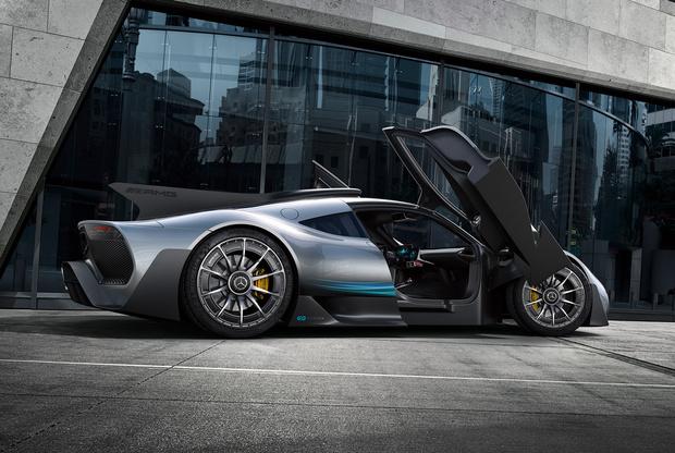 Фото №7 - На волю выпущен тысячесильный гиперкар Mercedes-AMG Project ONE