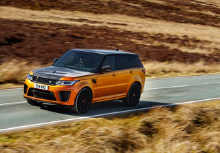 Range Rover Sport SVR: громобой