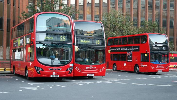 Фото №1 - Лондонские автобусы будут ездить на кофе