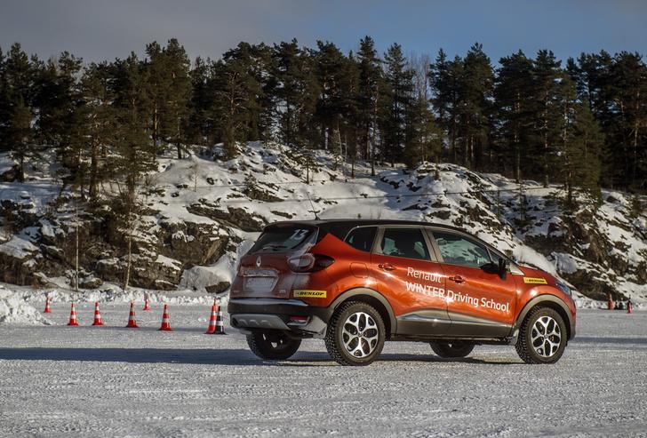 Фото №6 - Нефигурное катание: боком по льду на полноприводных Renault