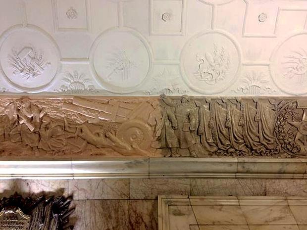 Фото №12 - Пушистый Иисус, Губка Боб, перекошенная нимфа и еще 10 примеров неудачной реставрации