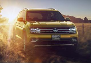 В Россию едет гигантский Volkswagen Teramont