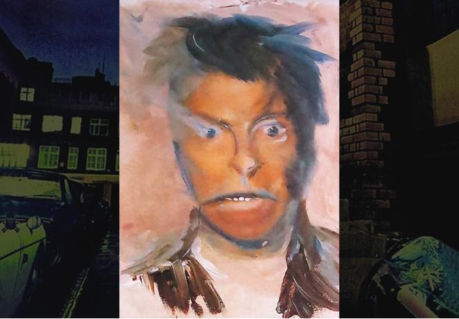 Безумные автопортреты Дэвида Боуи!
