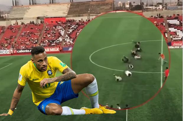 Фото №1 - «Неймар-челлендж» — новая, особенно смешная забава в честь бразильского нападающего! ВИДЕО