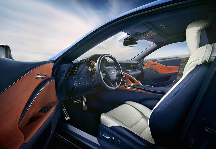 Фото №2 - Lexus LC500 думает за тебя