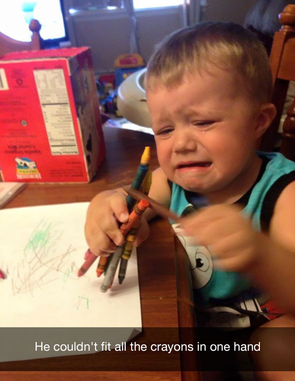 Фото №5 - 13 странных причин, по которым плачут дети