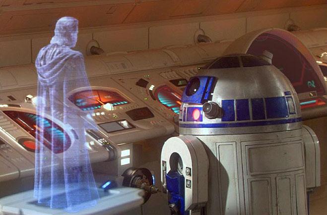 Фото №1 - Когда станут реальностью голограммы из «Звездных войн», и зачем жесткий диск кладут в холодильник