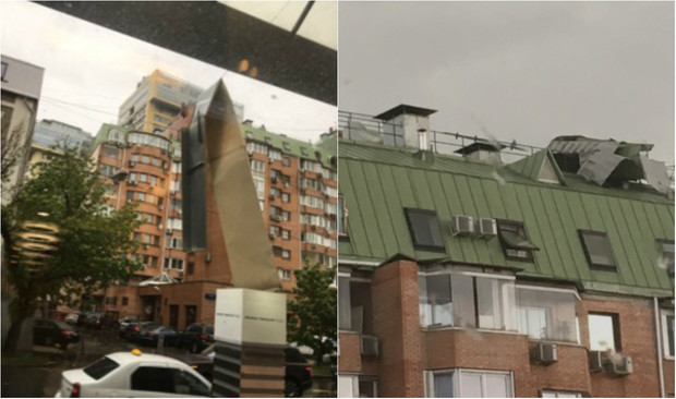 Фото №3 - Ураган в Москве: подборка самых пугающих видео и фото!