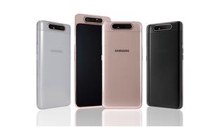 Samsung представил смартфон с A80 с вращающейся тройной камерой
