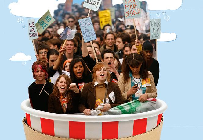 Поколение на горошине: рожденные после 1989 года как новый вид людей