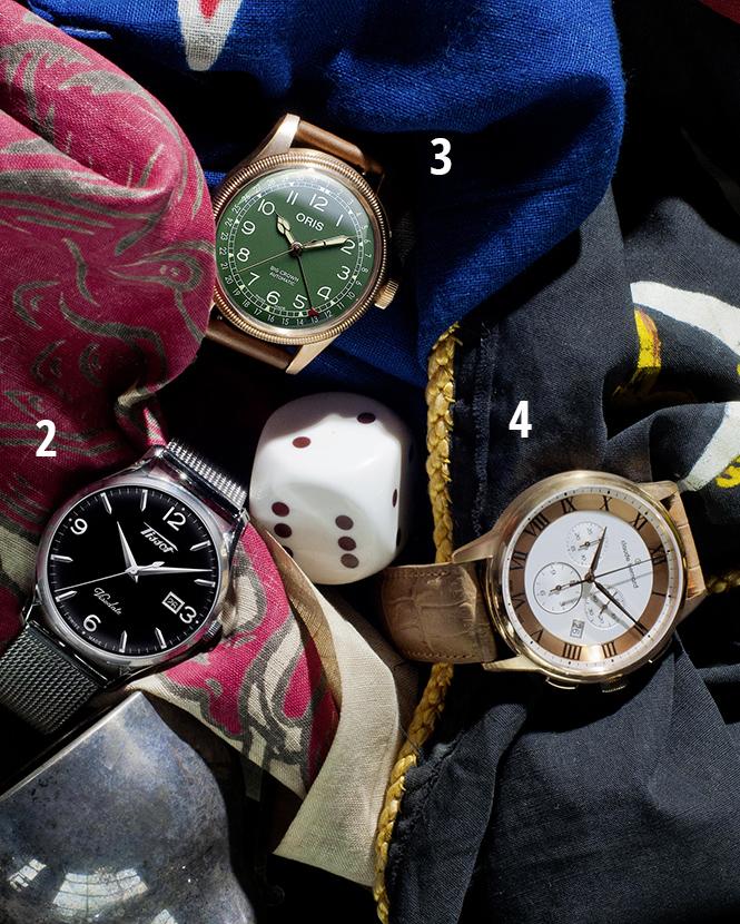 Фото №2 - Вперед в прошлое: 4 новые модели наручных часов в старом стиле