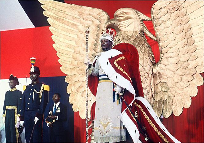 Жан-Бедель Бокасса, президент Центральноафриканской Республики с 1966 по 1976 год