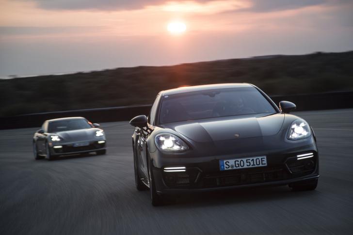 Фото №6 - Самый крутой гибрид в мире: Porsche Panamera Turbo S E-Hybrid