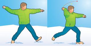 Как победить в снежки