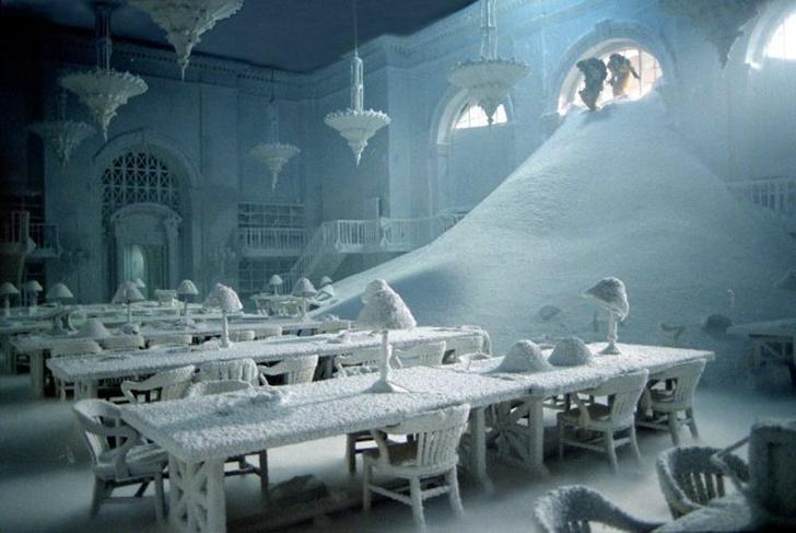 Фото №1 - Этот российский фотограф снимает снег лучше всех на свете!