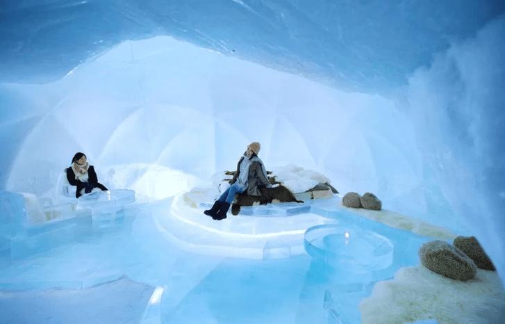 Фото №1 - Японский ледяной отель (галерея)