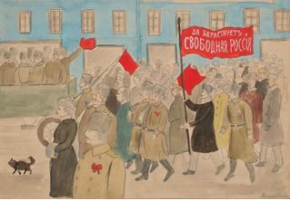 Детские рисунки времен революции (24 исторически метких рисунка)