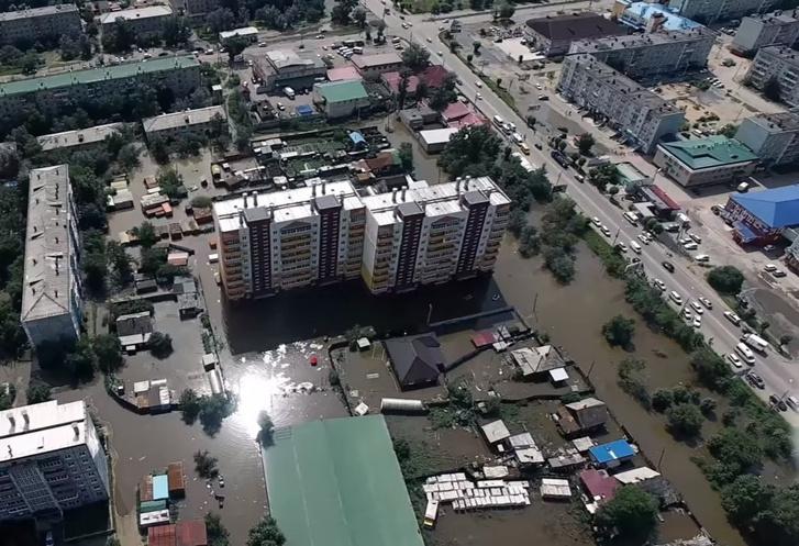 Фото №1 - Забайкалье уходит под воду! Апокалиптическое ВИДЕО глазами очевидцев