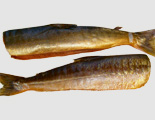 Копченая рыба  с рисом в соевом соусе
