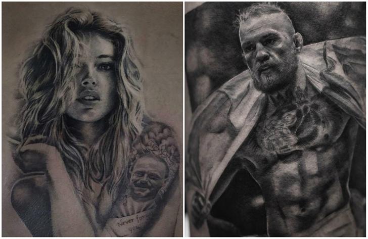 Фото №1 - Найден татуировщик, который делает лучшие в мире татуировки в стиле реализм!