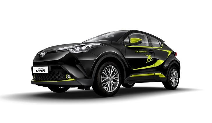 Фото №2 - Cool, Hot, Ride: все подробности о новом Toyota C-HR