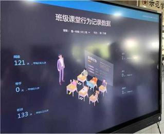 В китайской школе установили систему наблюдения за прилежностью учеников