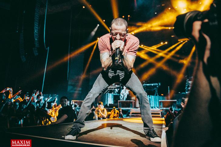 Фото №23 - Вопли рока. Что творилось на концерте Linkin Park