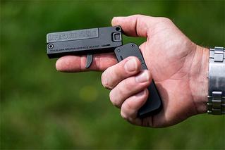 Пистолет размером с кредитную карту неожиданно стал реальностью!