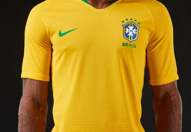 Ух! Глянь на форму сборной Бразилии для грядущего ЧМ-2018