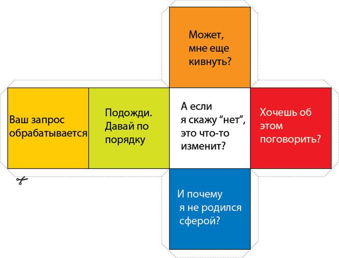 Кубик для принятия решений