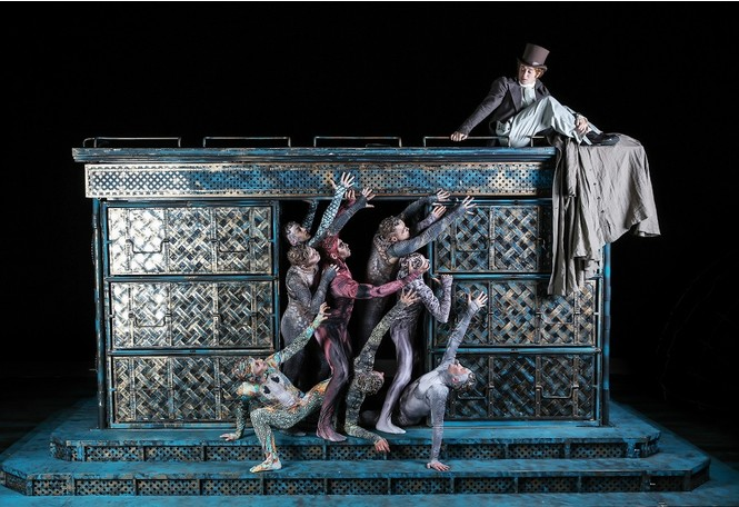 Сумасшествие Поприщева на сцене Московского Губернского театра