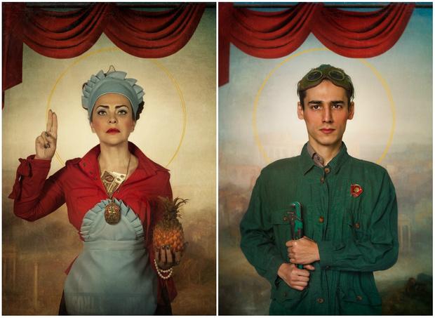 Фото №1 - Фотографии «советских святых» принесли фотографу из Алма-Аты победу на парижском конкурсе