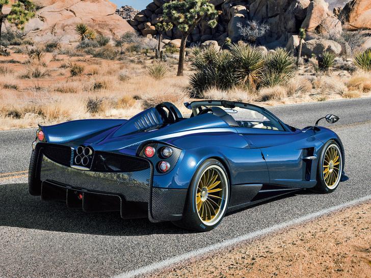 Фото №3 - В Pagani решили сделать родстер из суперкара Huayra...