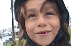 Шестилетний скейтбордист