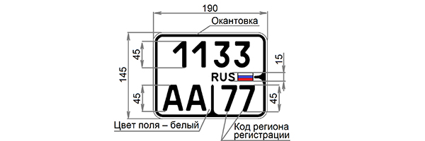 Фото №2 - В России появятся новые номерные знаки, и вот как они выглядят