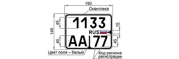 В России появятся новые номерные знаки, и вот как они выглядят