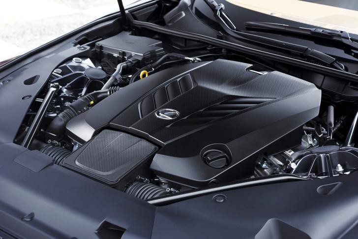 Фото №4 - Lexus LC 500: суперсовременная оболочка для настоящего олдскула